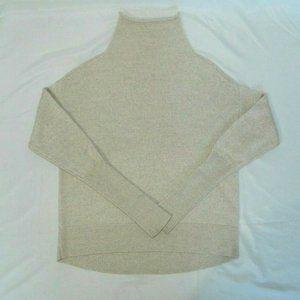 Aritzia Wilfred Cyprie Merino Wool Sweater beige